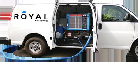Camion usine de nettoyage tapis et ventilation