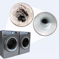 Nettoyage de conduit de ventilation de sécheuse