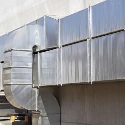Nettoyage de conduit de ventilation commercial
