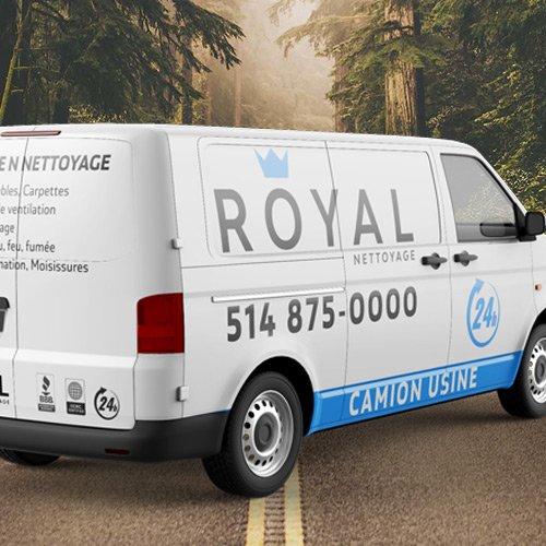 Camion usine Royale Nettoyage