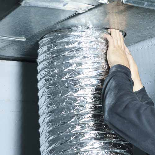 Expert in air duct maintenance and cleaning
